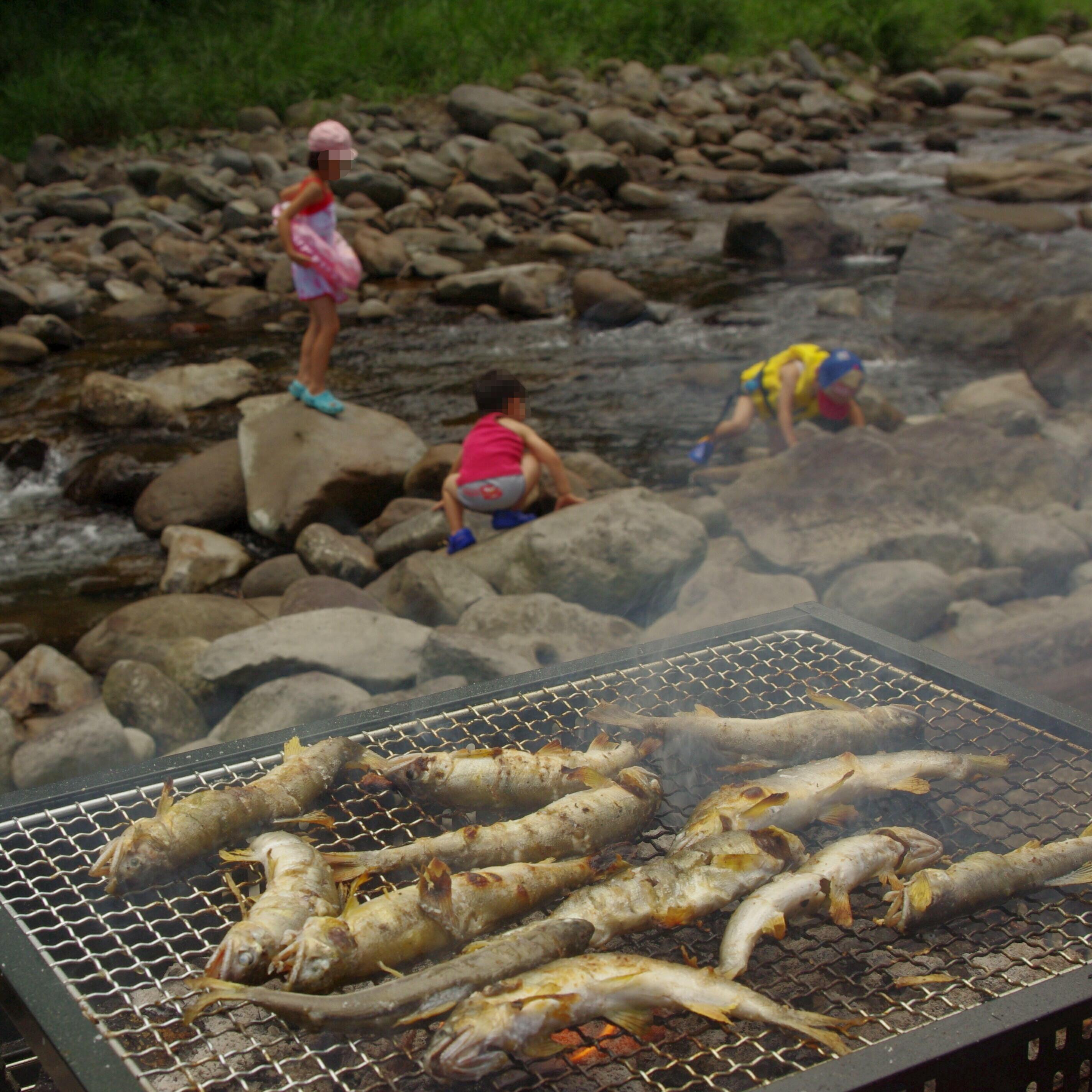 第22回多良川愛河会アユまつりが開催されます。