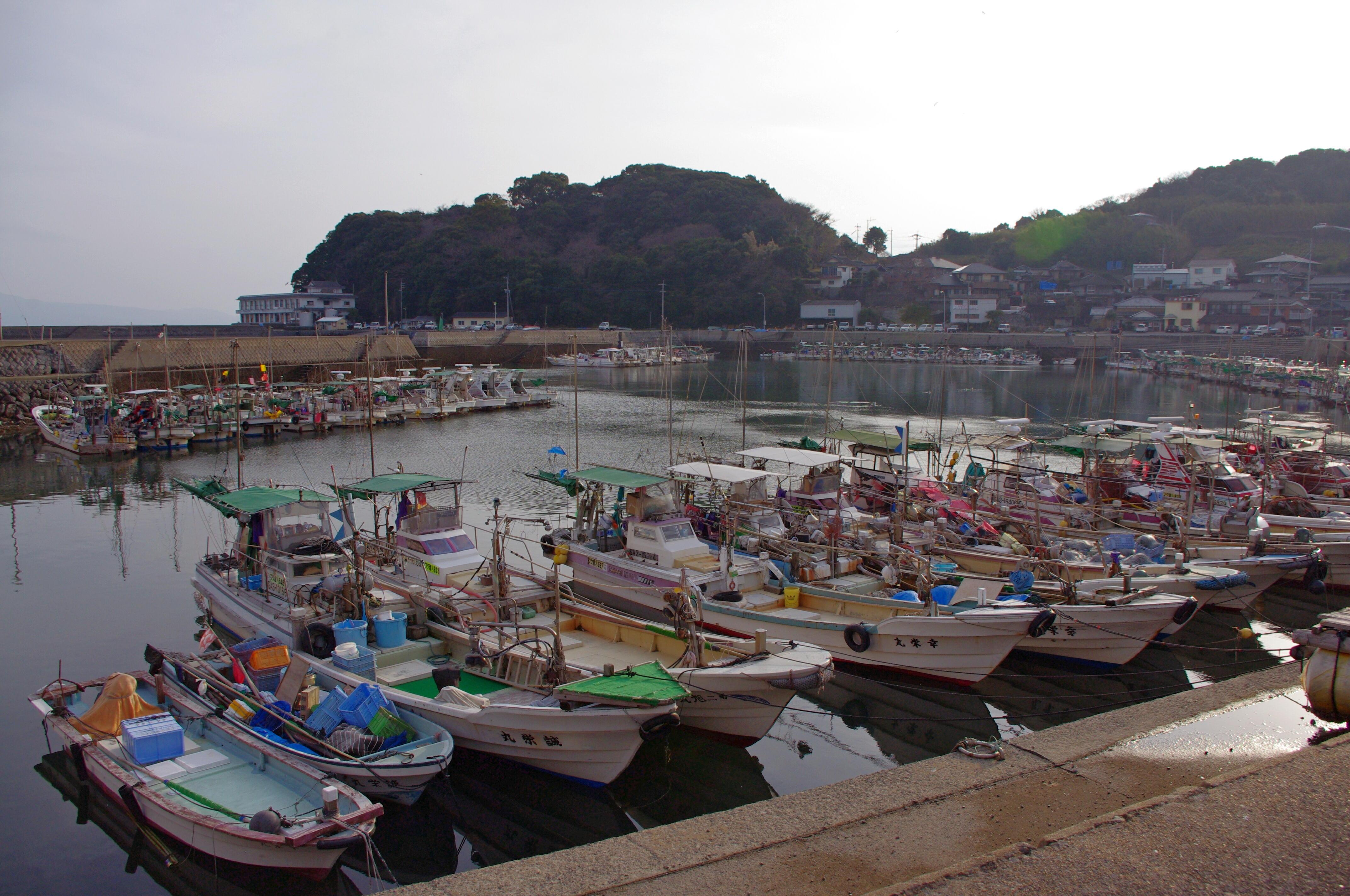 「竹崎漁港」