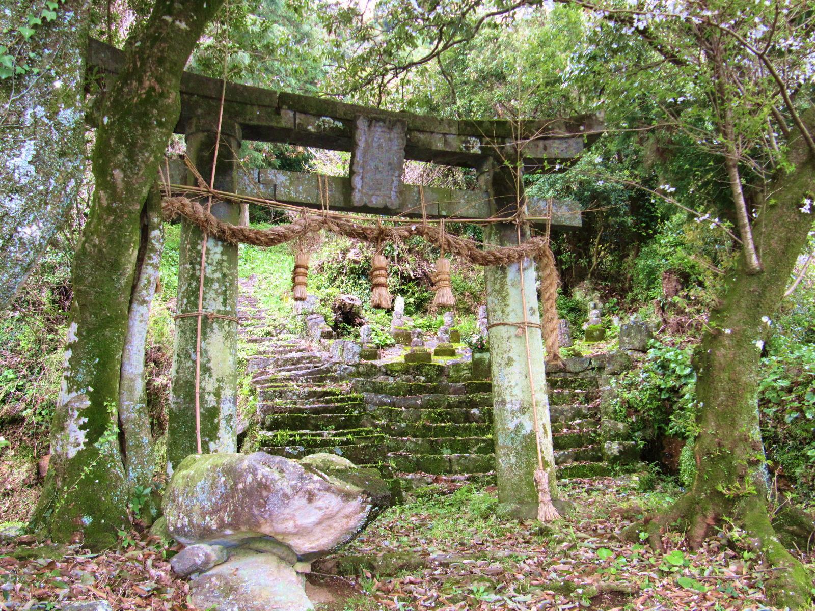 神殿入口の鳥居