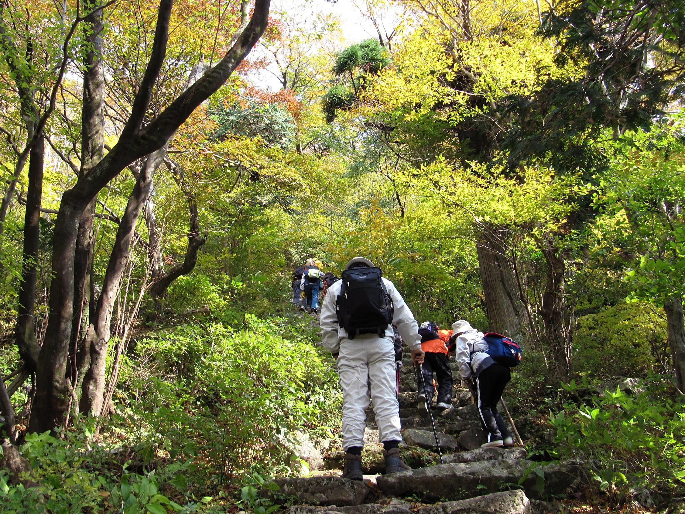 多良岳登山